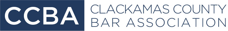 Logo:  Clackamas County Bar Association